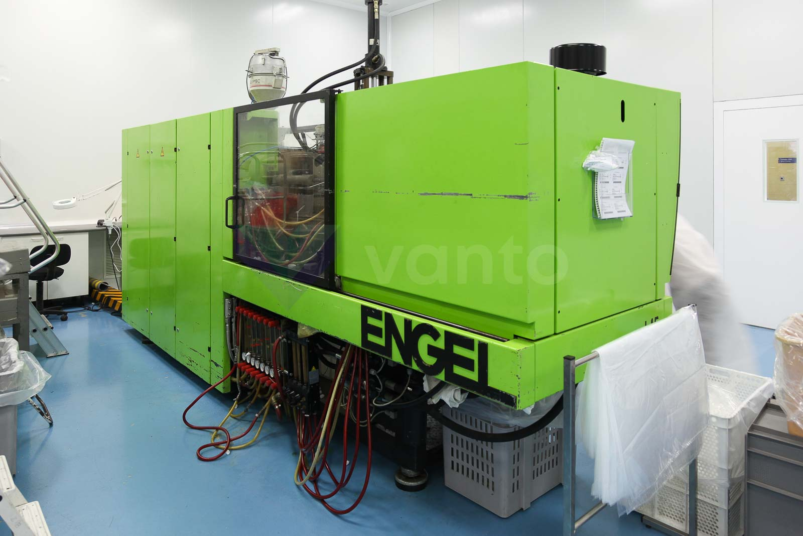 ENGEL ES 500 / 90 HLST 110t injection molding machine (1997) id3449