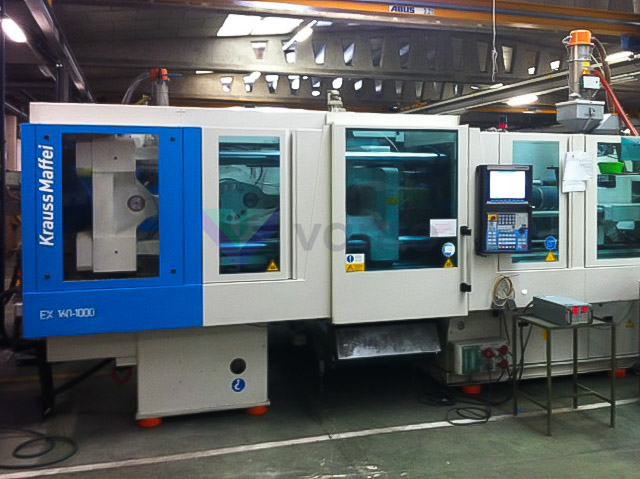KRAUSS MAFFEI EX 160 / 1000 160t all-electric injection molding machine (2009) id4005