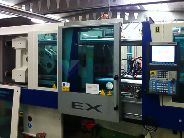 KRAUSS MAFFEI EX 160 / 750 160t all-electric injection molding machine (2008) id4003