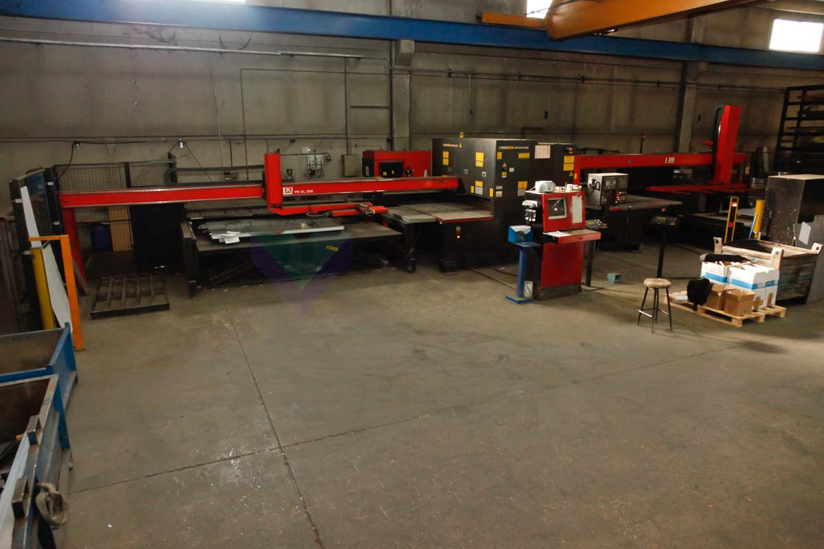 AMADA LC 2415 ALPHA III Laser cutting machine (CO2) (2004) id4032