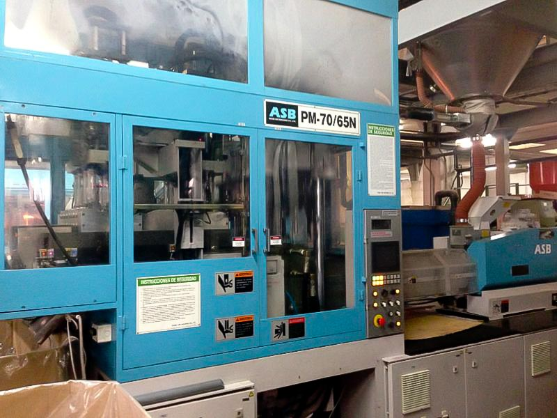 NISSEI ASB PM-70/65N PET preform injection molding machine (2008) id4524