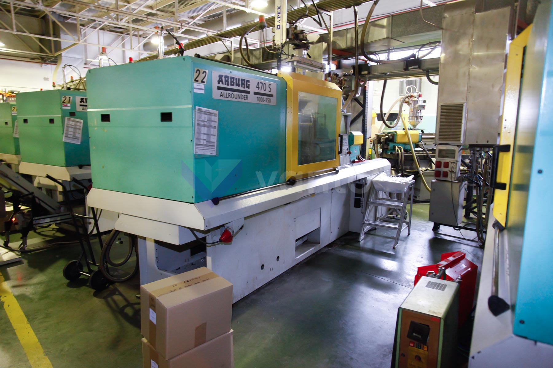 ARBURG 470 S ALLROUNDER 1000 - 350 100t injection molding machine (2002) id4540