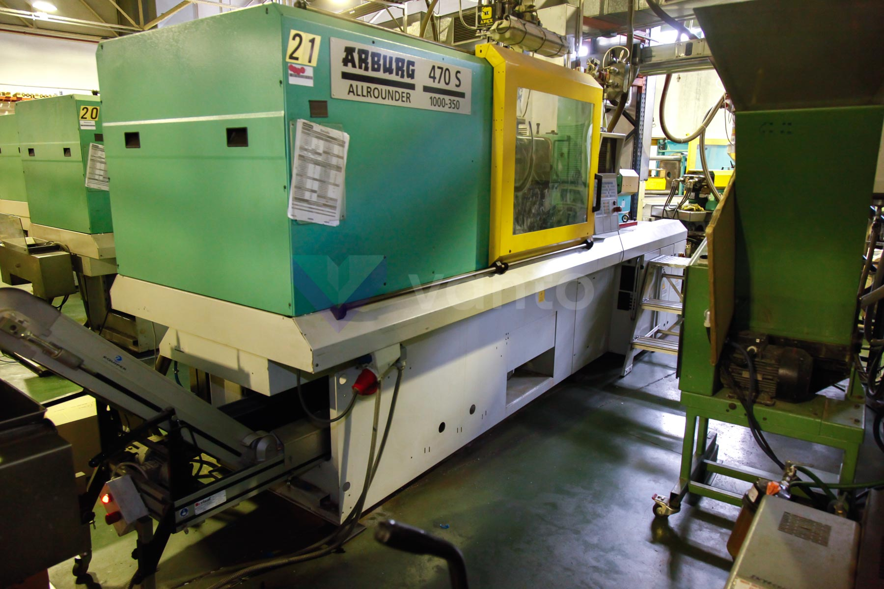 ARBURG 470 S ALLROUNDER 1000 - 350 100t injection molding machine (2002) id4539
