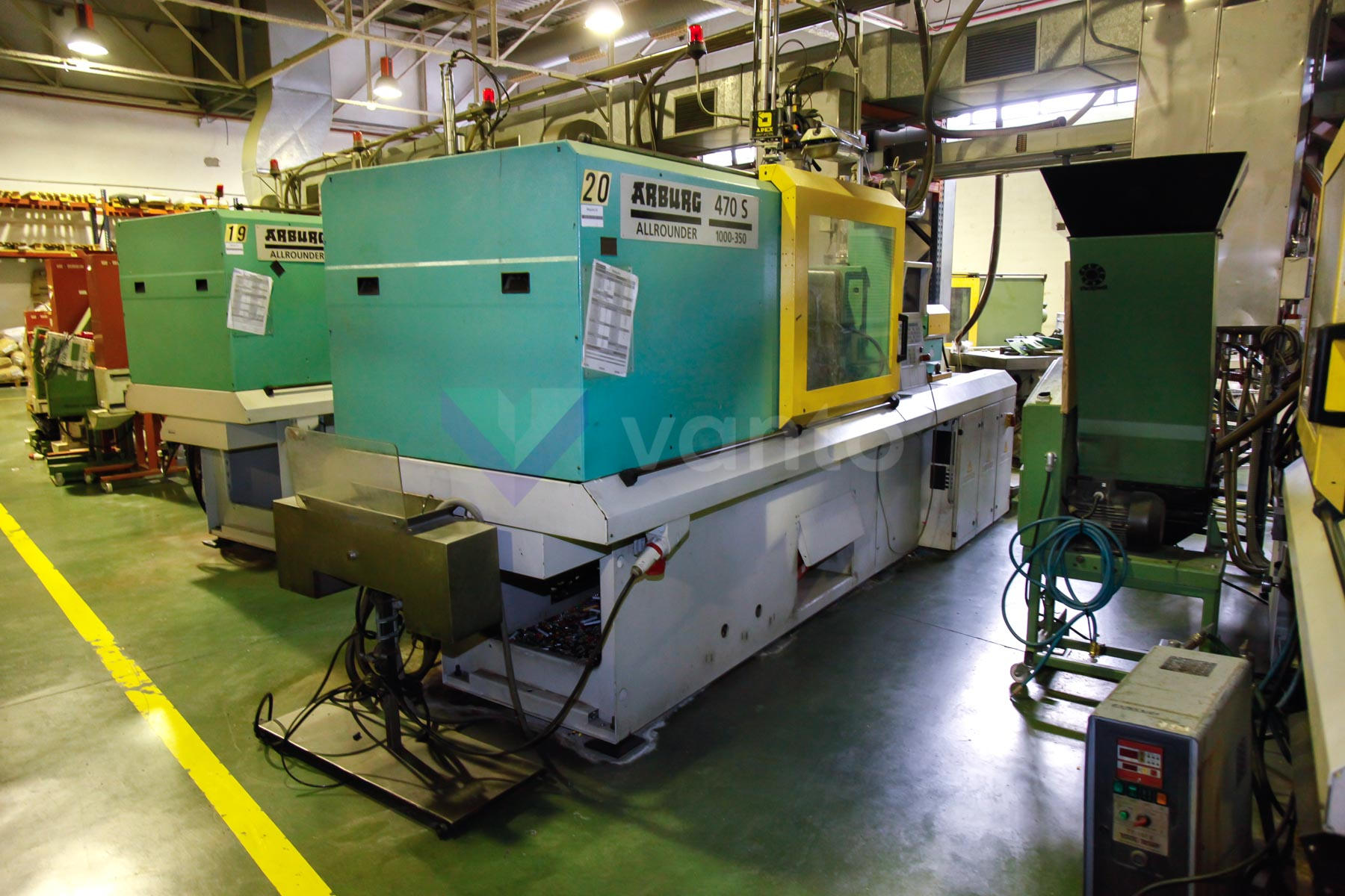 ARBURG 470 S ALLROUNDER 1000 - 350 100t injection molding machine (2002) id4541