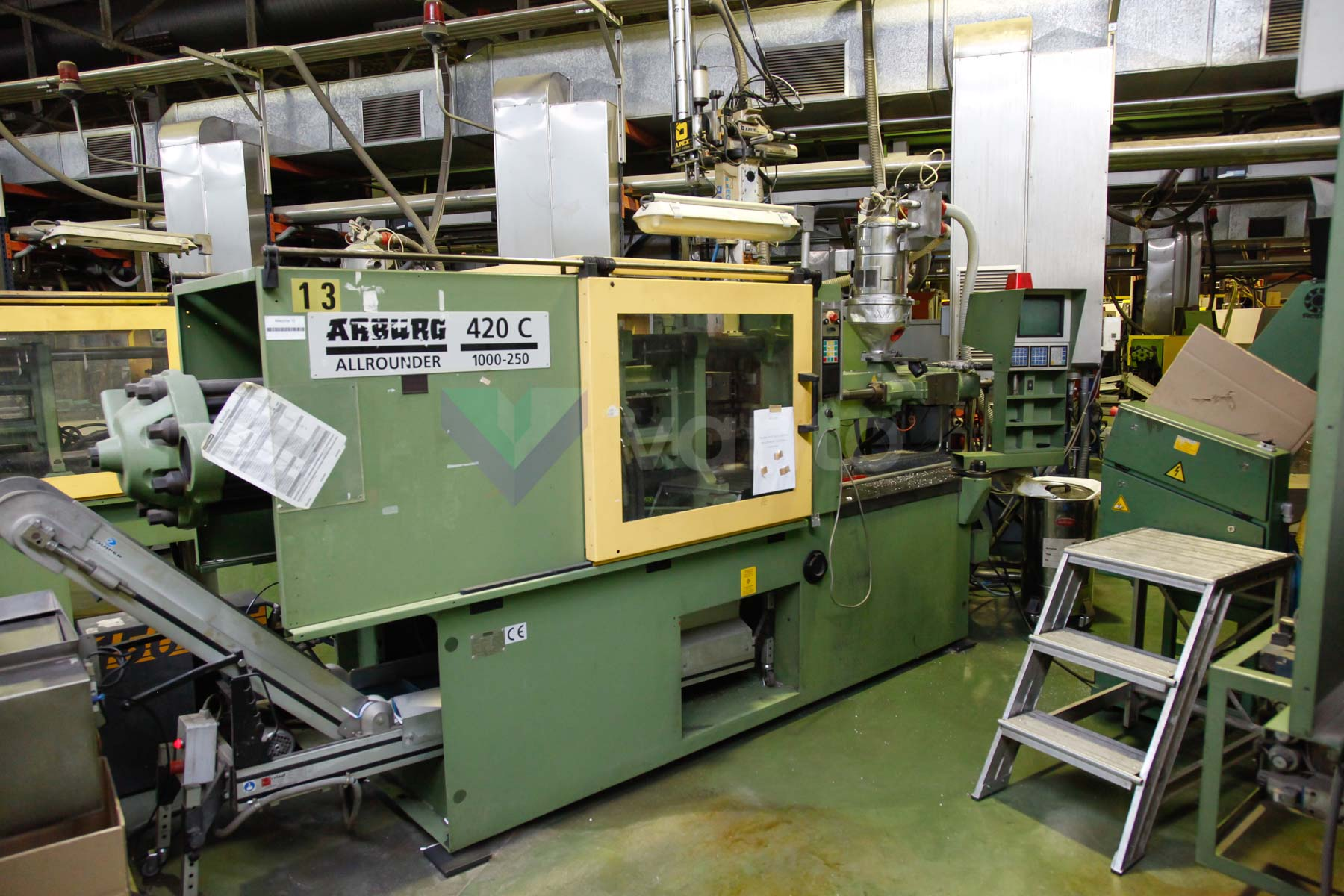 ARBURG 420 C ALLROUNDER 1000 - 250 100t injection molding machine (1997) id4545
