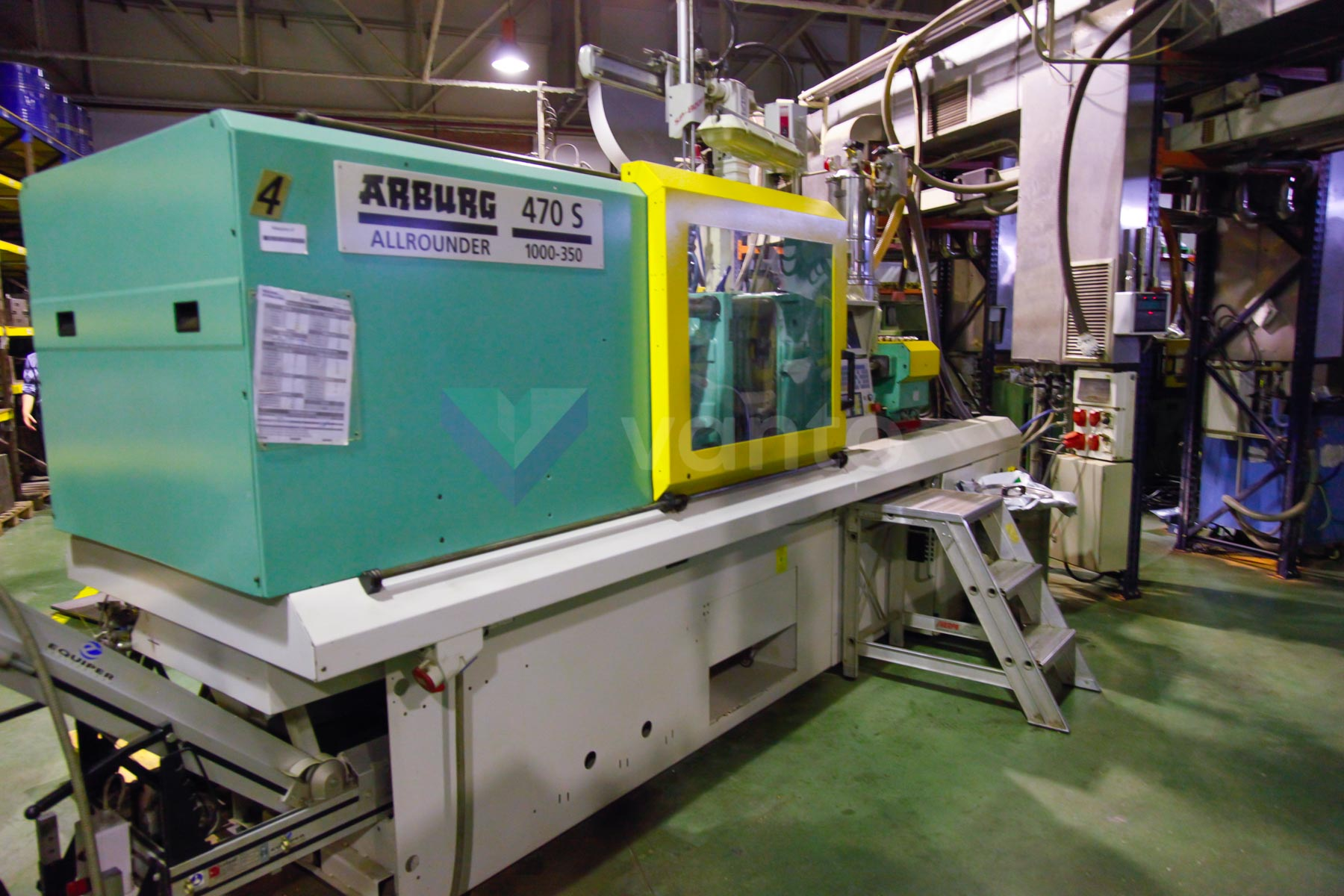 ARBURG 470 S ALLROUNDER 1000 - 350 100t injection molding machine (2000) id4543