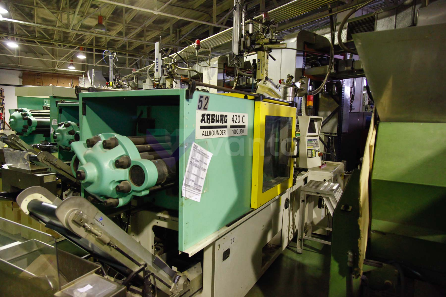 ARBURG 420 C ALLROUNDER 1000 - 350 100t injection molding machine (1999) id4544