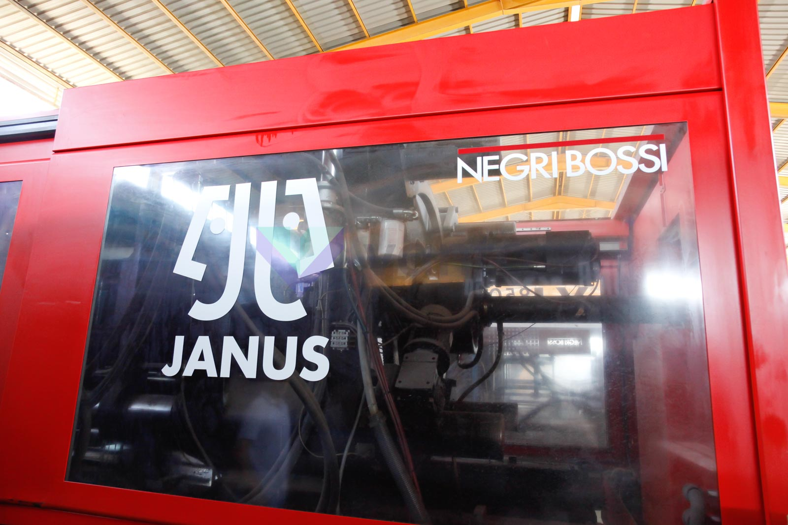NEGRI BOSSI JANUS 8500H - 6700 850t injection molding machine (2009) id4502