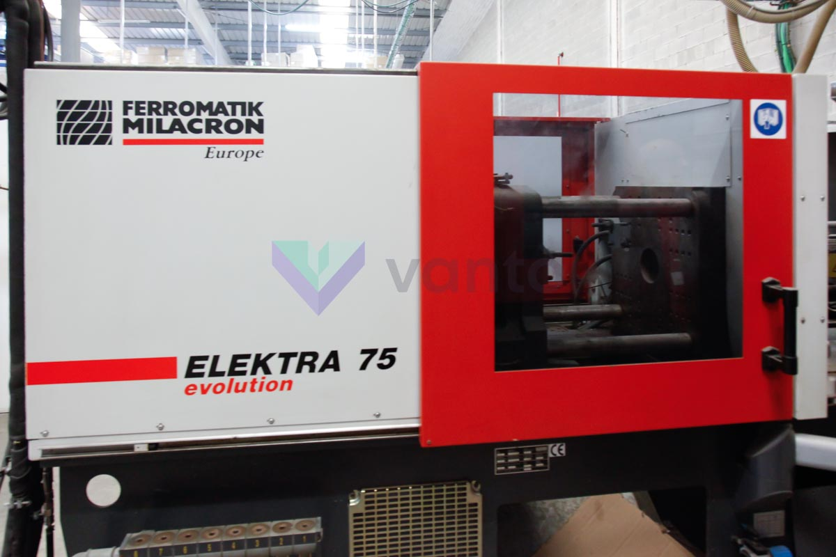 Machine de moulage par injection 75t FERROMATIK ELEKTRA EE 75 750H-300 (2003) id4571