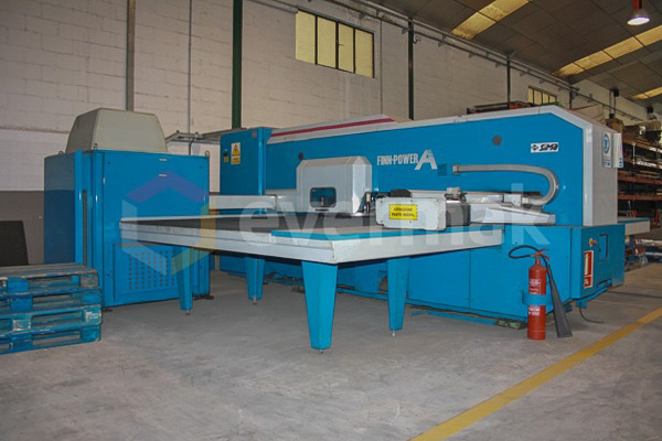 Poinçonneuse CNC FINN POWER A5 20 (2000) id4568