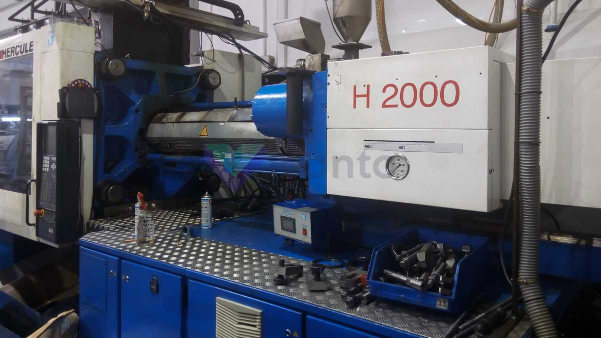 BILLION H2000/320T GP HERCULE 320t injection molding machine (2003) id10310
