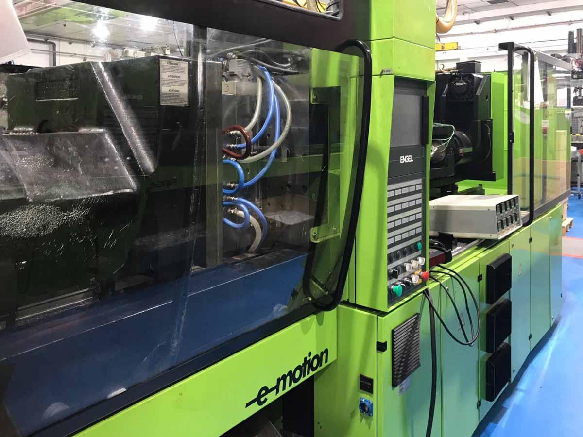 Máquina de moldeo por inyección de 150t completamente eléctrica ENGEL E-MOTION 740-150 (2006) id4675