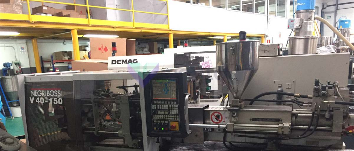 NEGRI BOSSI V40 40t injection molding machine (2001) id5349