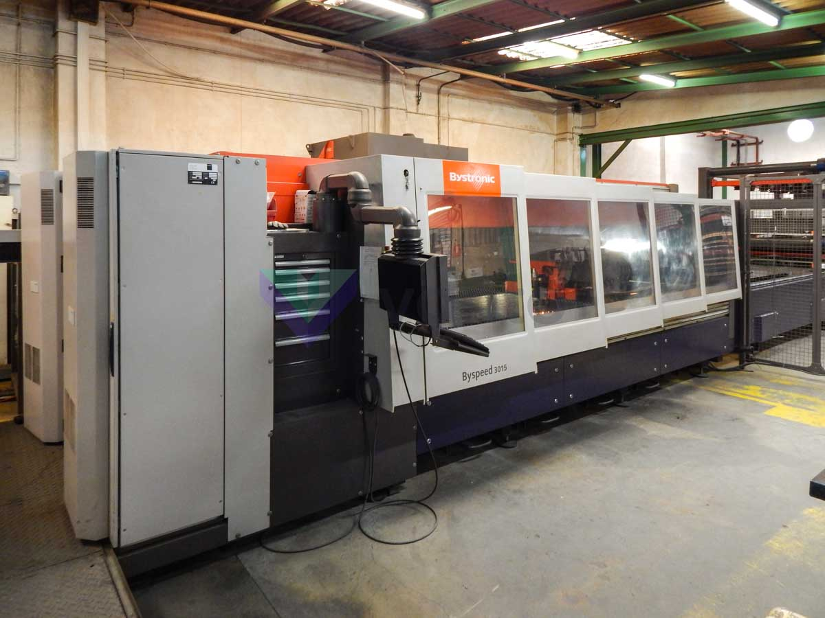BYSTRONIC BYSPEED 3015 Laser cutting machine (CO2) (2008) id10225