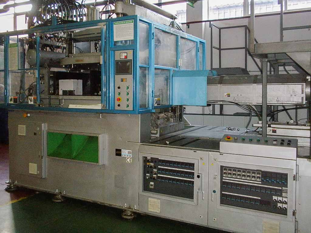 NISSEI ASB 650 NH II PET stretch and blow injection machine (2006) id5241