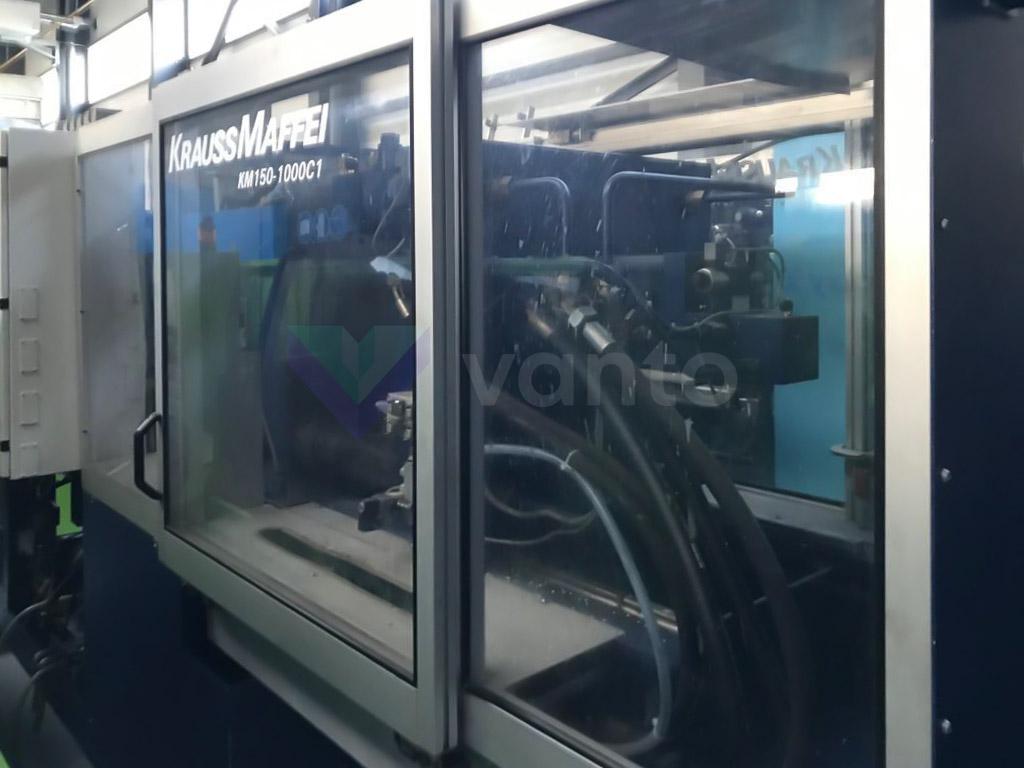 150t enjeksiyonu kalıplama makinesi KRAUSS MAFFEI KM 150-1000 C1 (2000) id10597