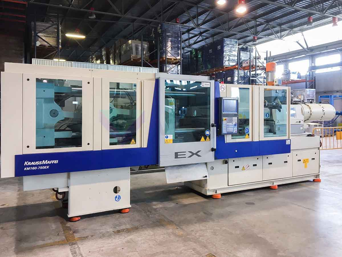KRAUSS MAFFEI EX 160 / 750 160t all-electric injection molding machine (2009) id10106