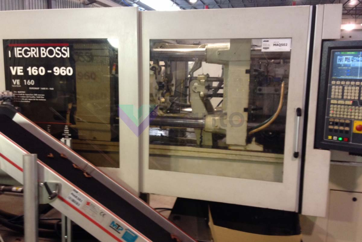 NEGRI BOSSI VE 160 1600H 720 Elma 160t all-electric injection molding machine (2003) id5401
