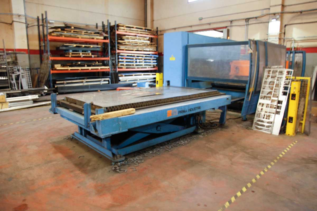 PRIMA INDUSTRIE PLATINO PL4000 Laser cutting machine (CO2) (2004) id5421