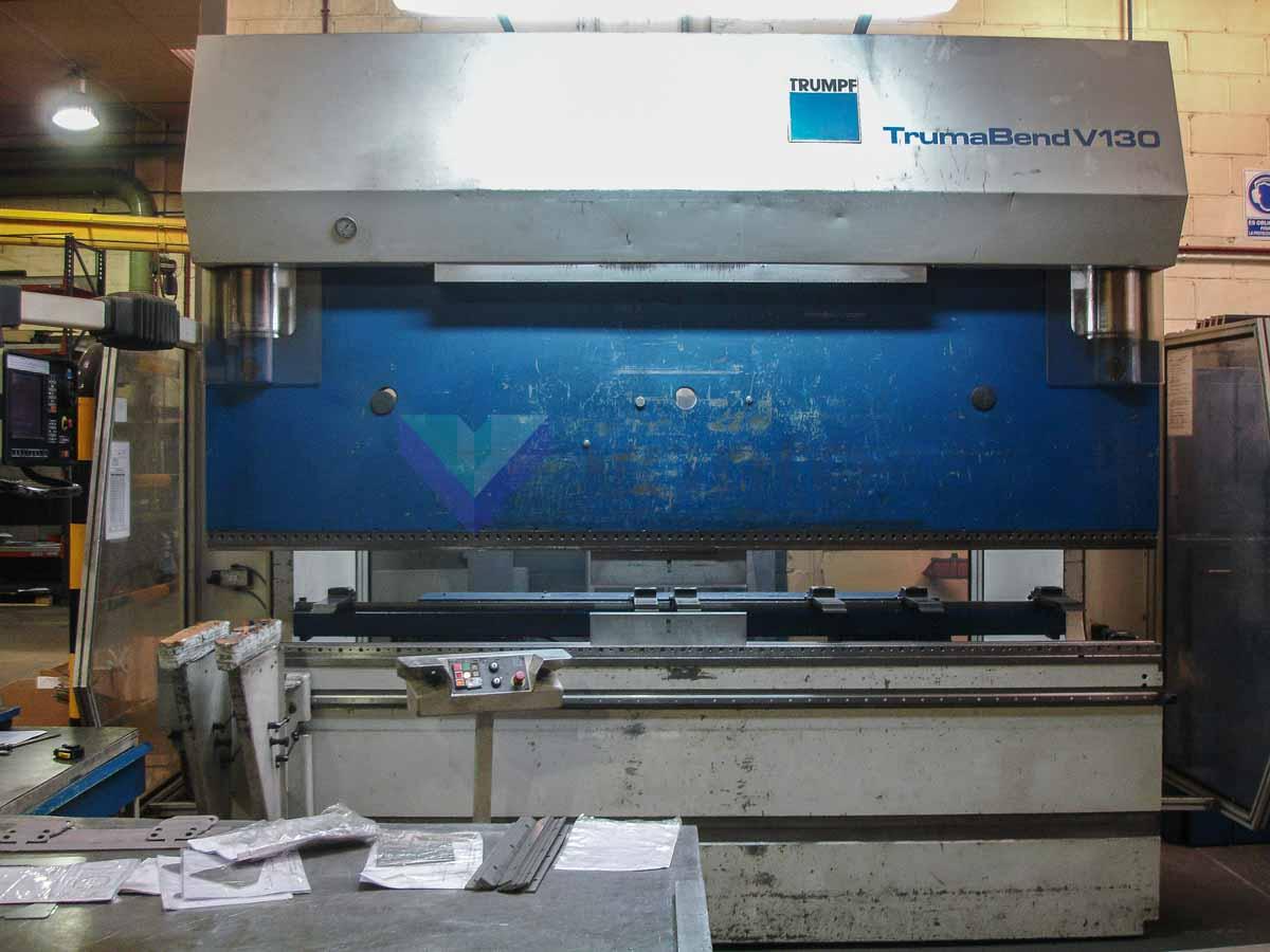 Plegadora CNC TRUMPF TrumaBend V130 (1998) id5679