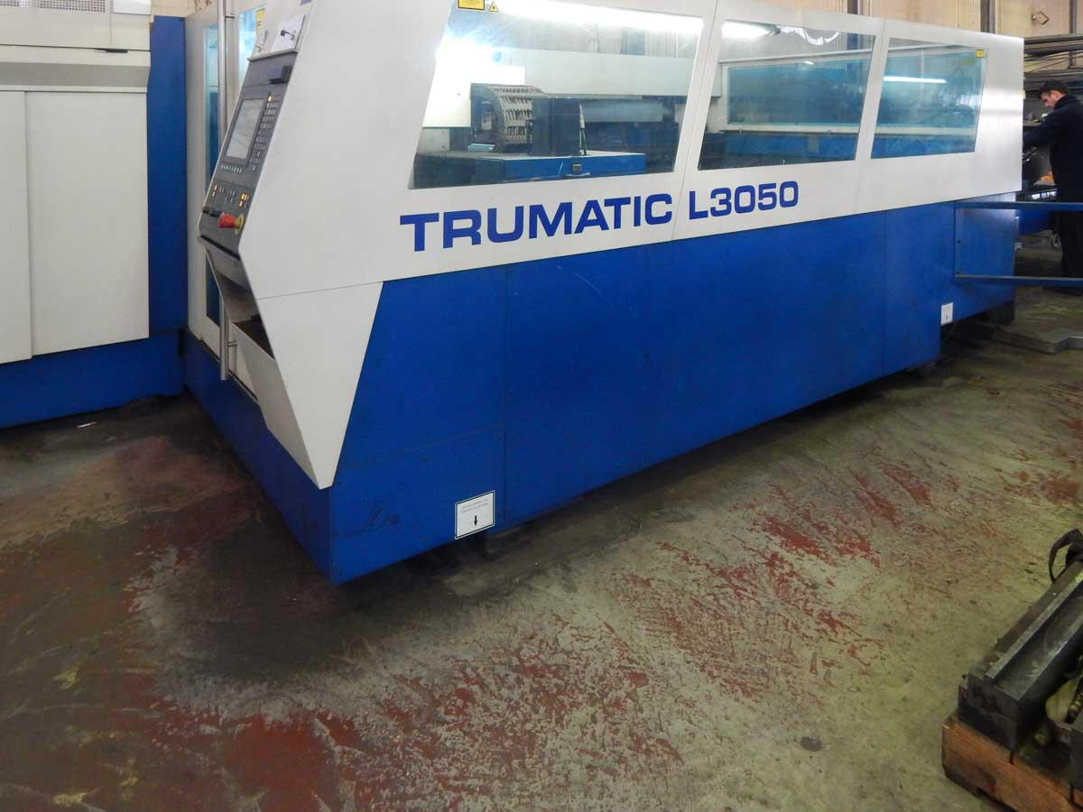 TRUMPF TRUMATIC L3050 Laser cutting machine (CO2) (2002) id5463