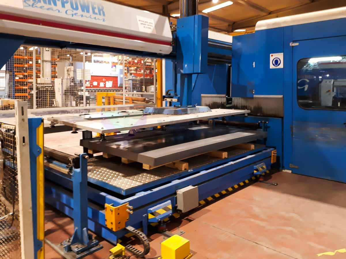 FINN POWER SG6 CNC punching machine (2004) id10149