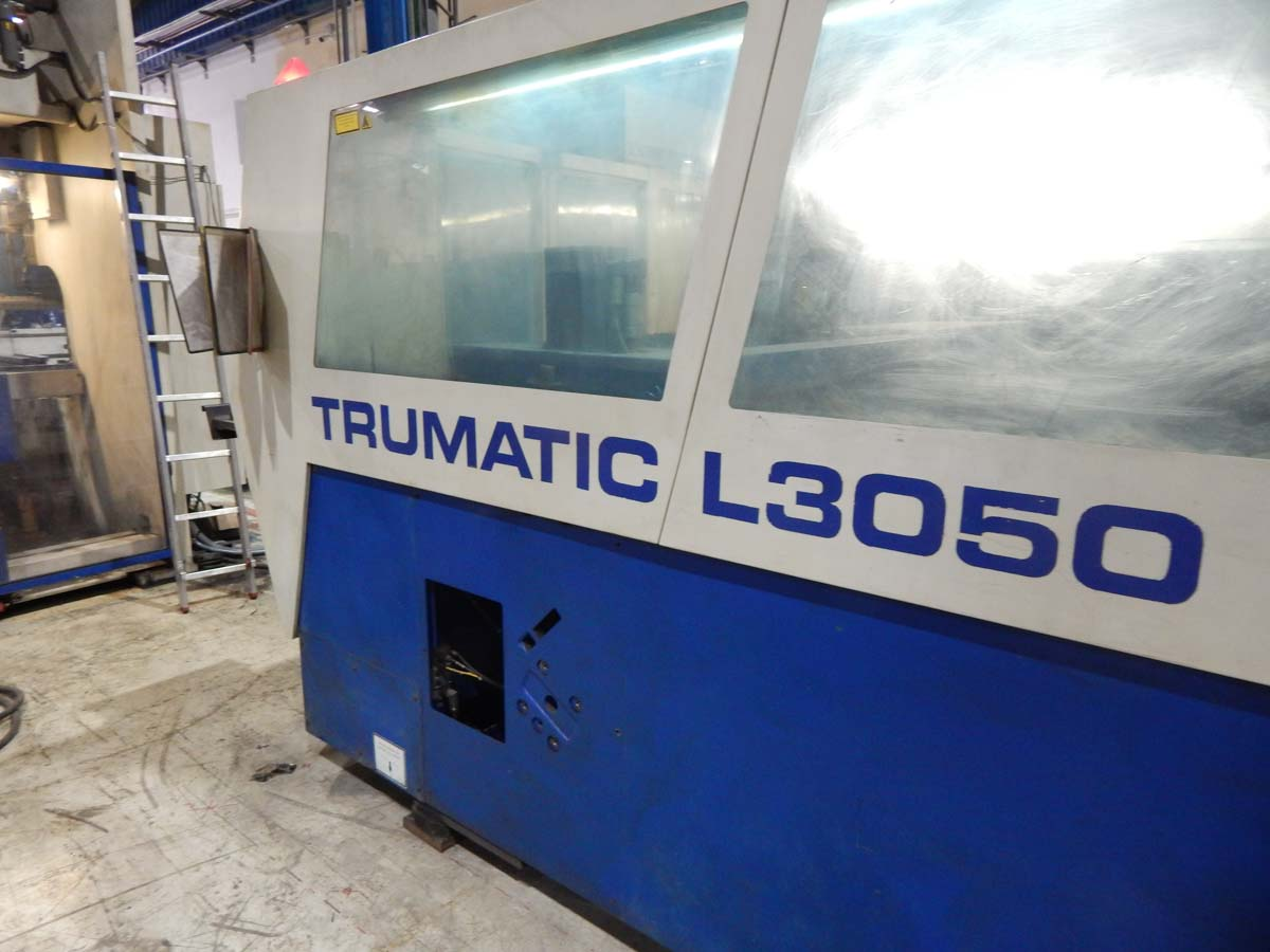 TRUMPF TRUMATIC L3050 Laser cutting machine (CO2) (2003) id5434