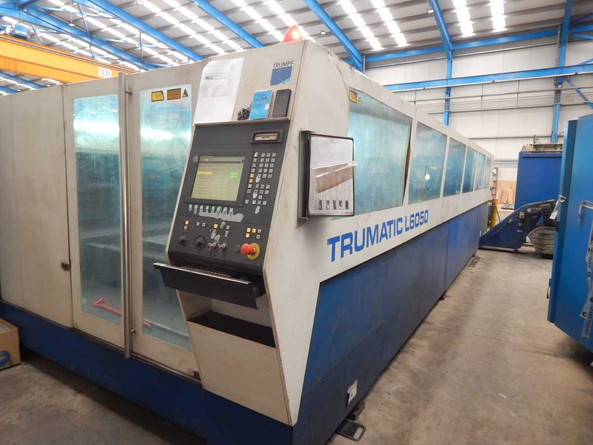 TRUMPF TRUMATIC L6050 Laser cutting machine (CO2) (2004) id5576