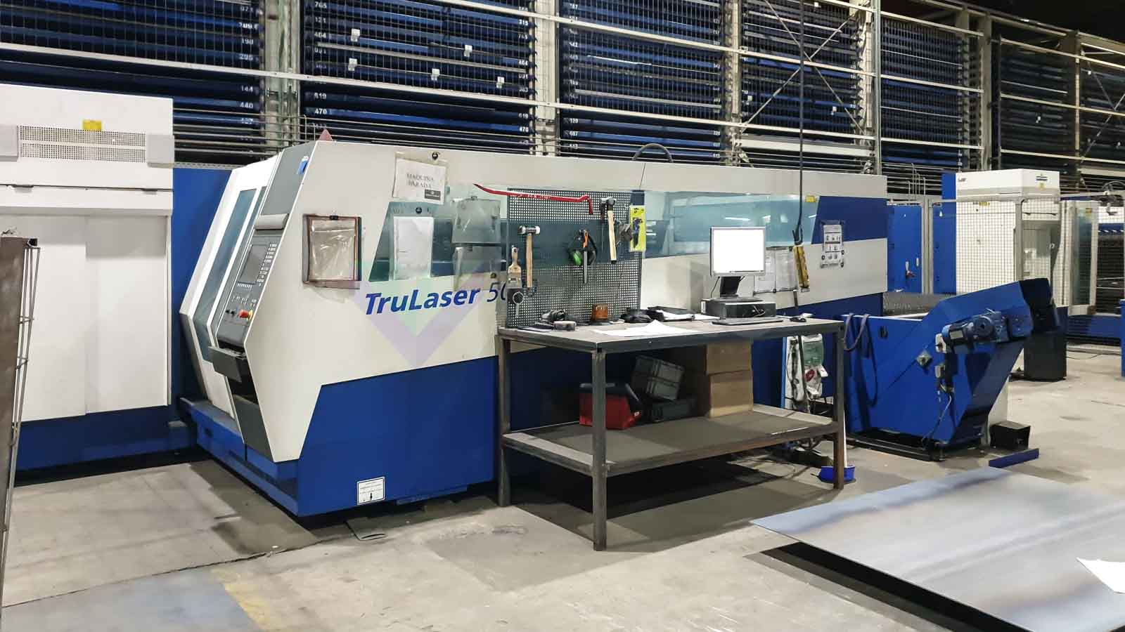 TRUMPF TruLaser 5030 Laser cutting machine (CO2) (2008) id10545