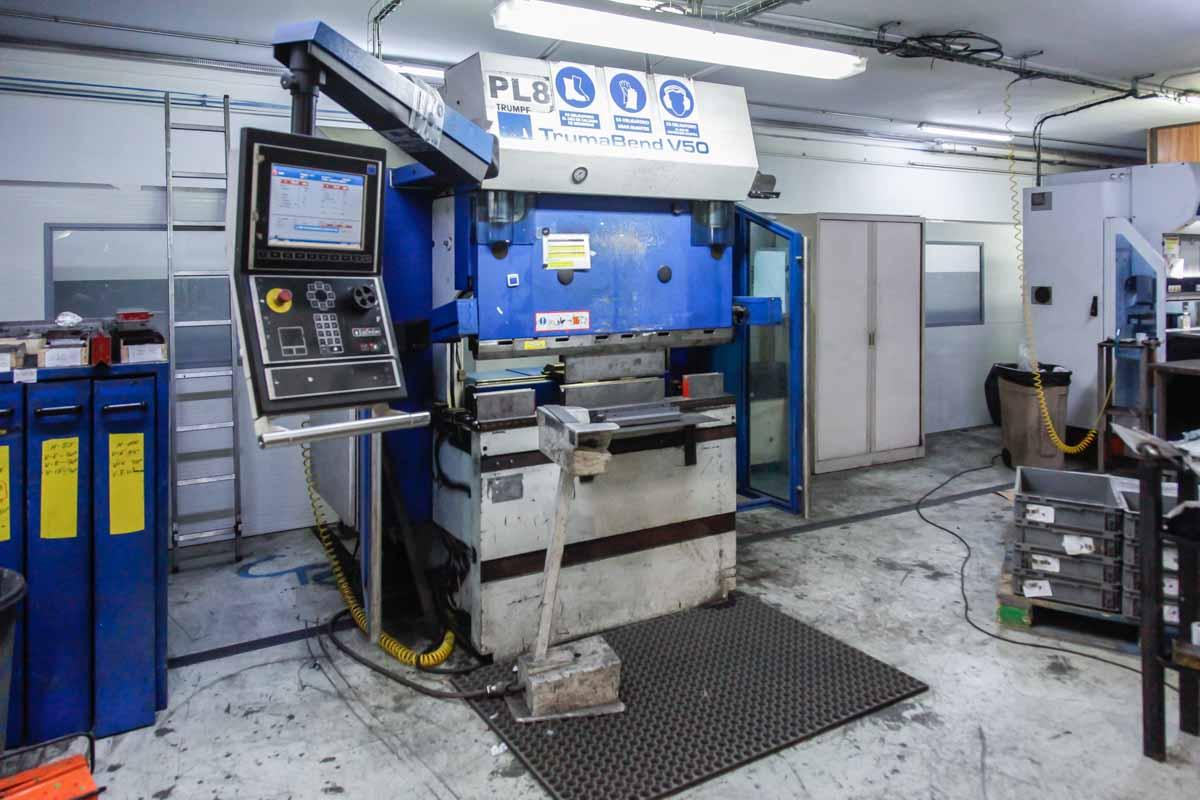 Plegadora CNC TRUMPF TRUMABEND V50 (2005) id5697