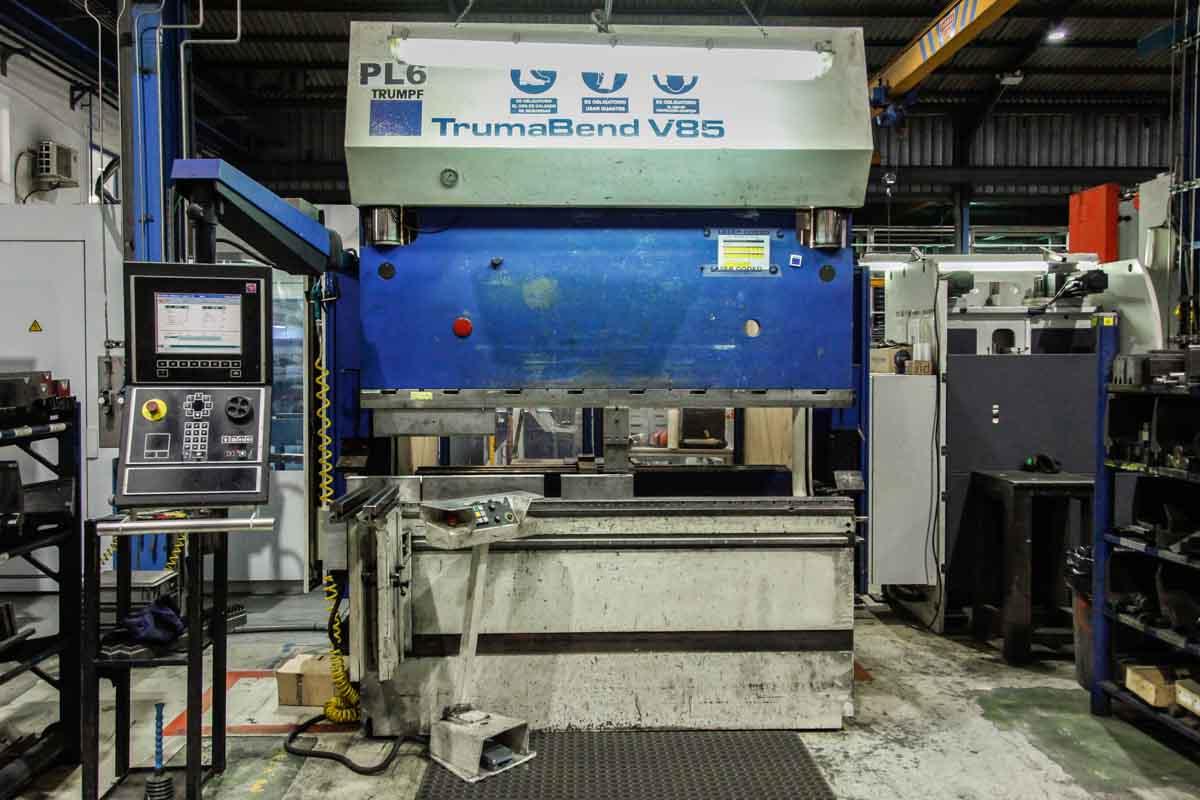 Plegadora CNC TRUMPF TRUMABEND V85 (2004) id5696