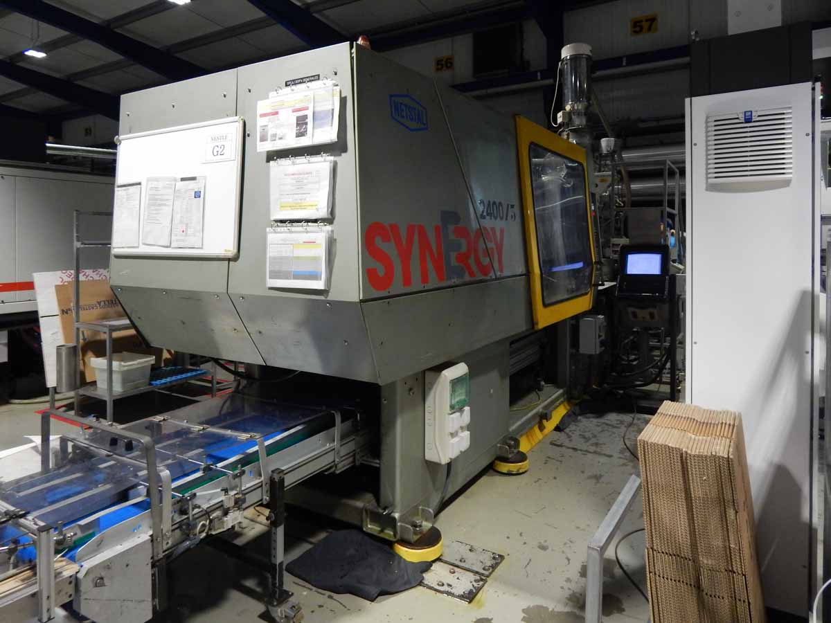 Machine de moulage par injection 240t NETSTAL SYNERGY 2400-1700 (1998) id5496