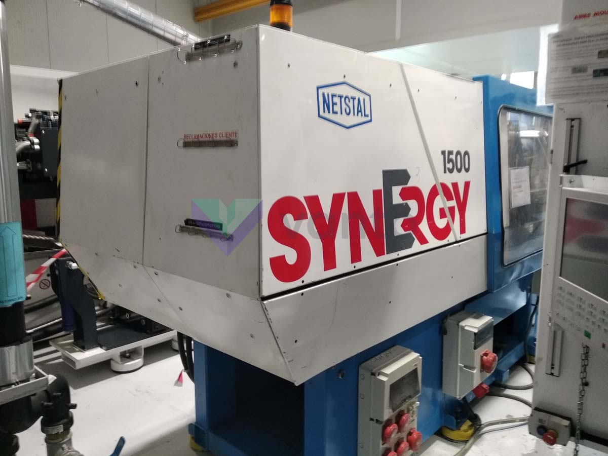 Machine de moulage par injection 150t NETSTAL SYNERGY 1500 460 (1999) id10334