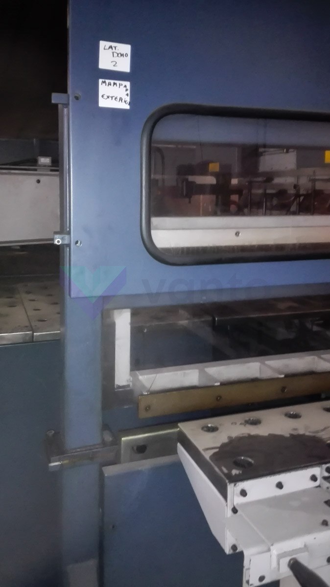 SALVAGNINI S4 + P4 Line 2D Punching, shearing and sheet metal folding line (1998) id5481