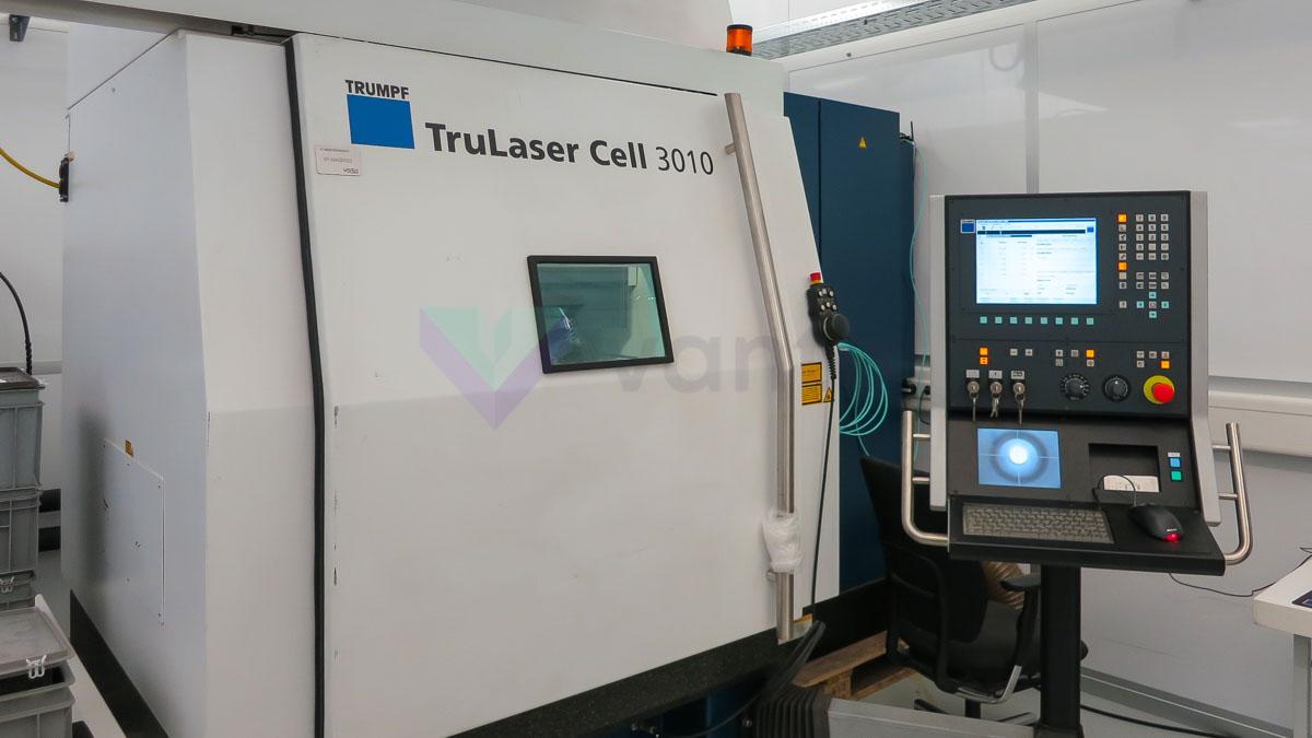 Máquina de corte por láser 3D TRUMPF TRULASER CELL 3010 (2010) id5577
