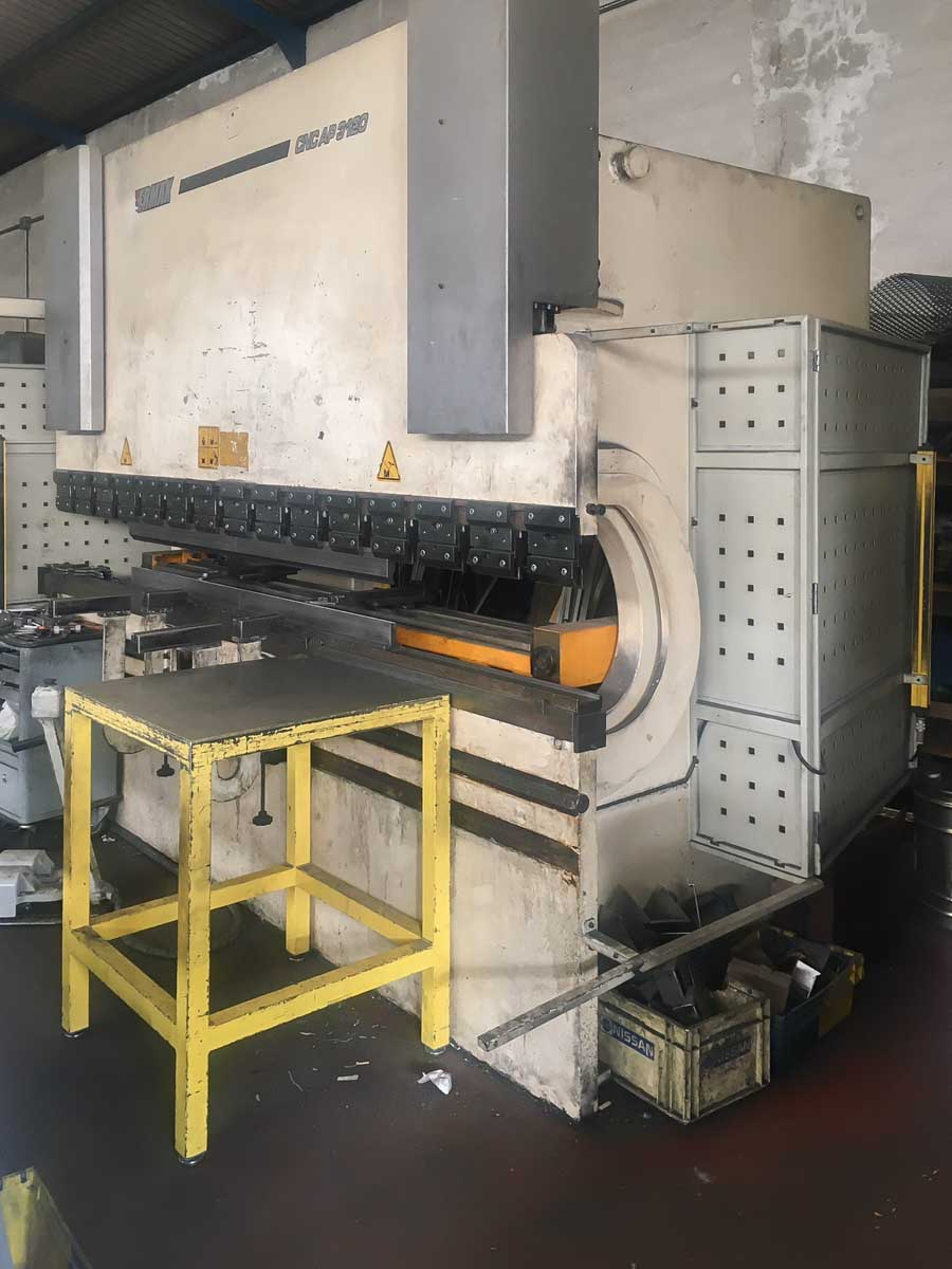 ERMAKSAN Power-Bend 3100-120 CNC Bending machine (2007) id10267