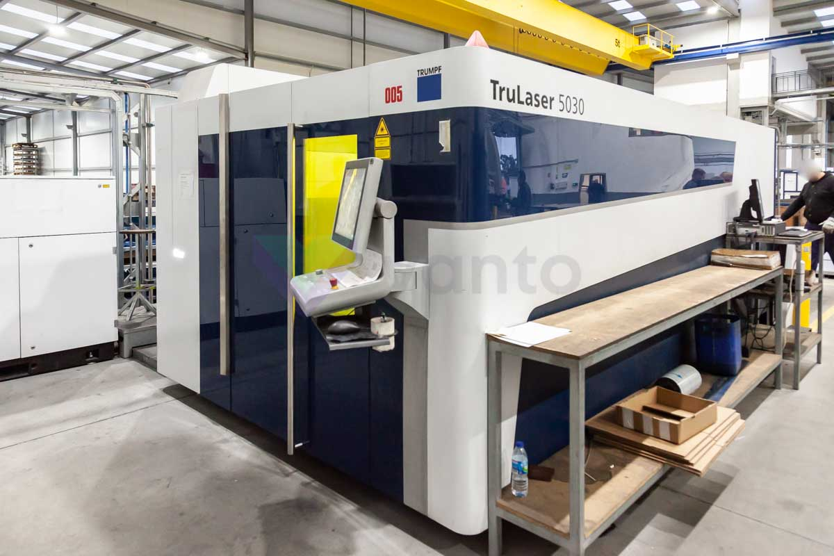 TRUMPF TruLaser 5030 Laser cutting machine (Fiber) (2014) id10142