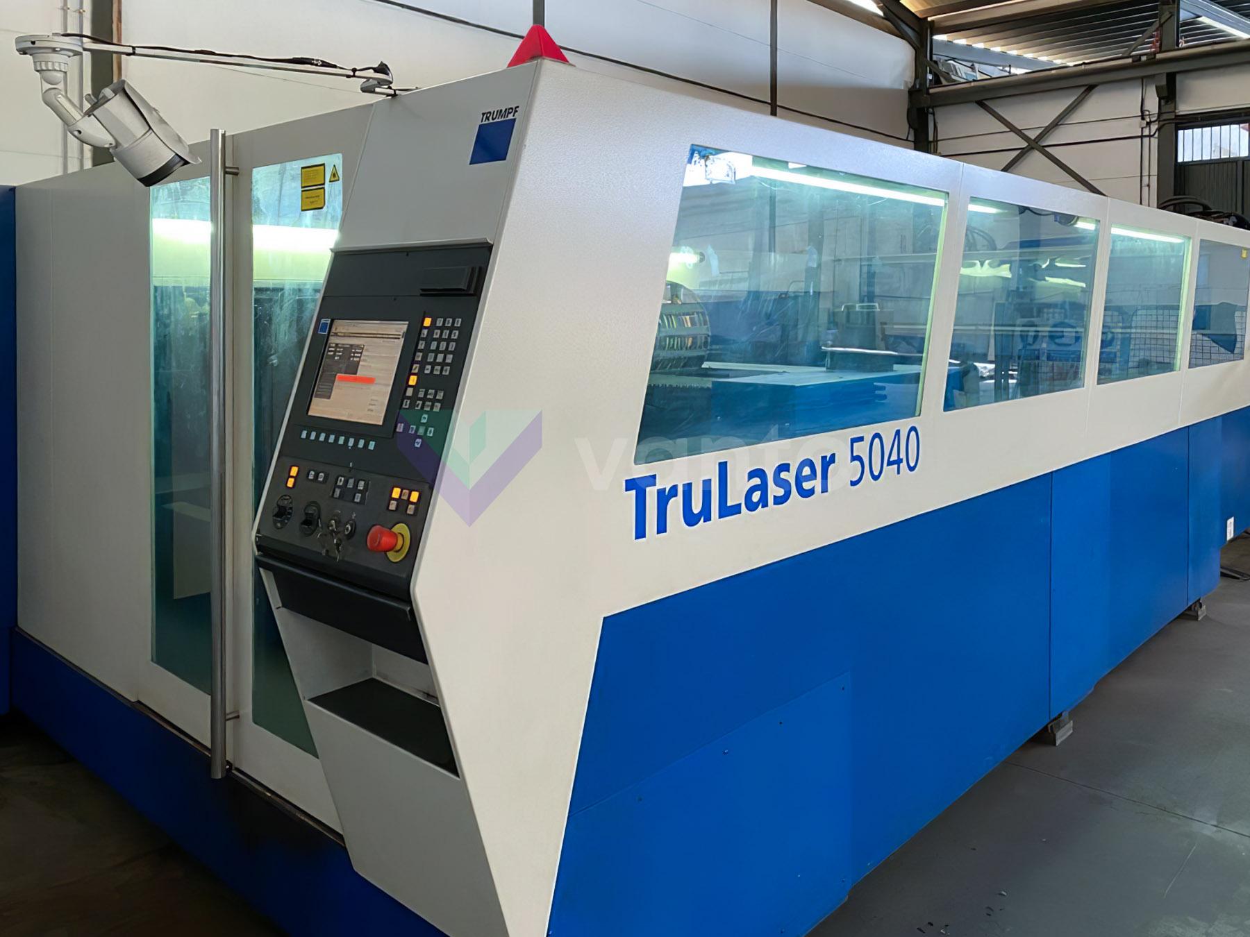 Lazer kesme makinesi (CO2) TRUMPF TruLaser 5040 (2006) id10419