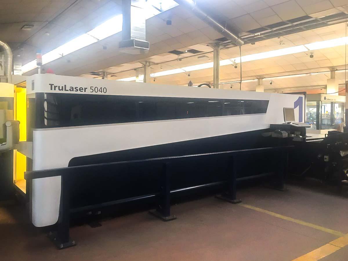 Machine de découpe laser (fibre) TRUMPF TruLaser 5040 (2014) id10157