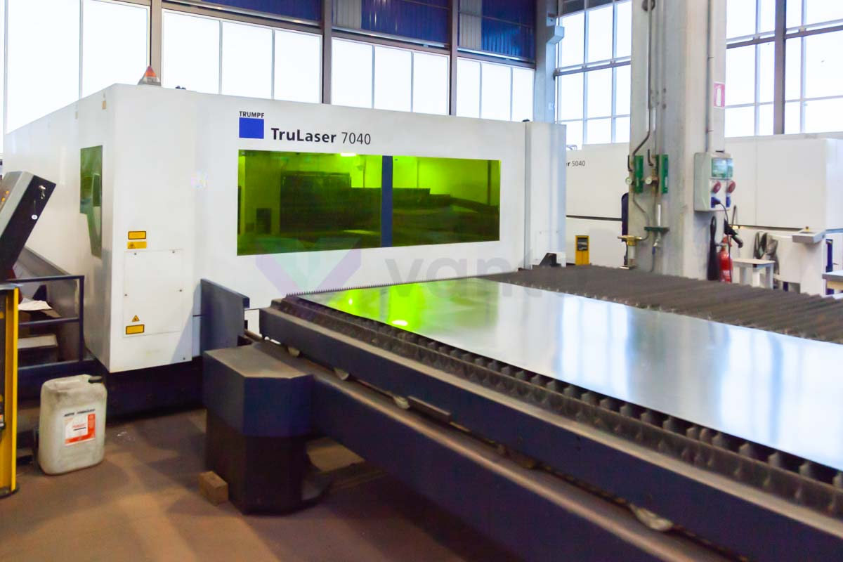 TRUMPF TruLaser 7040 Laser cutting machine (Fiber) (2014) id5699
