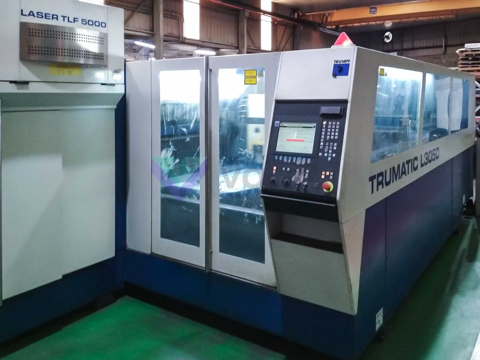 Machine de découpe laser (CO2) TRUMPF TRUMATIC L3050 (2002) id10390