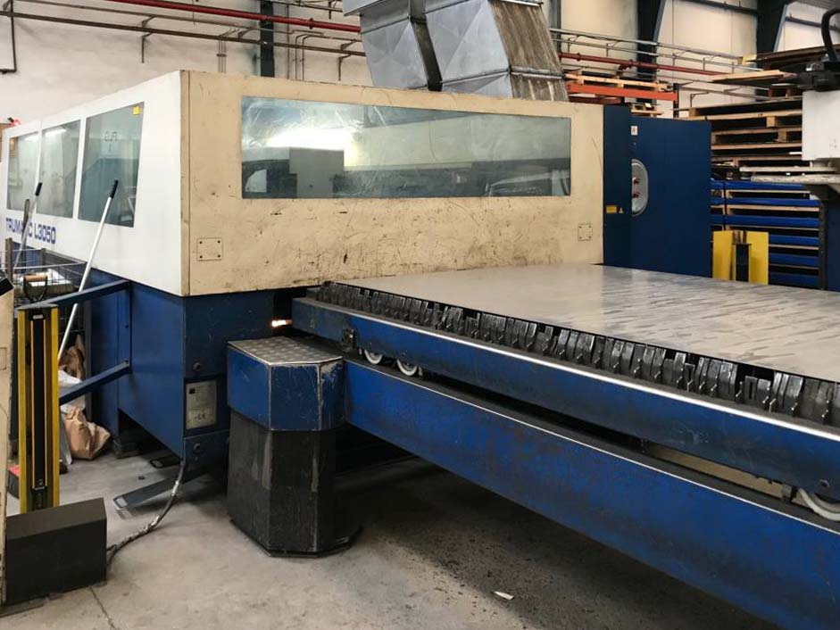 TRUMPF TRUMATIC L3050 Laser cutting machine (CO2) (2003) id10188