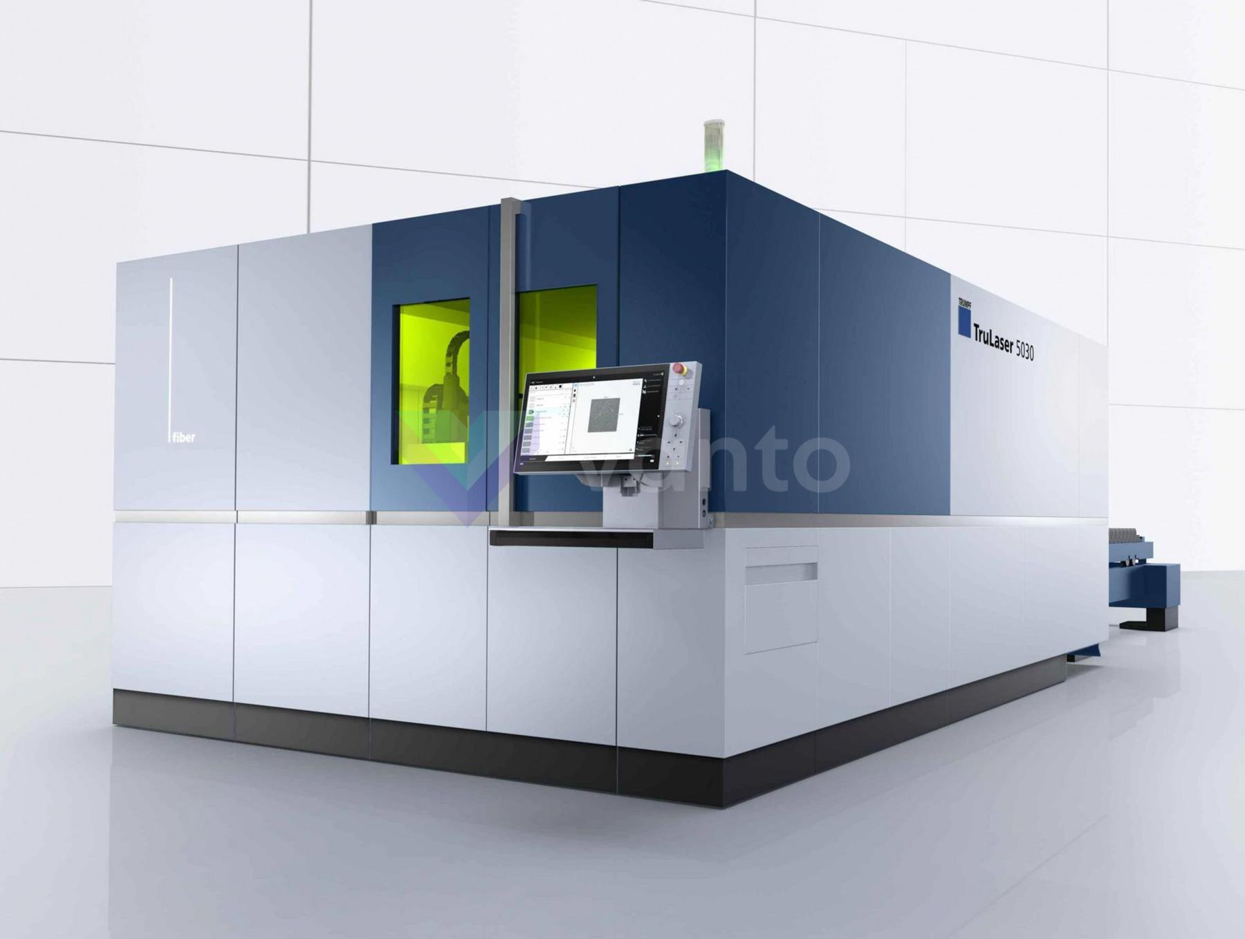TRUMPF TruLaser 5030 fiber Laser cutting machine (Fiber) (2017) id10448