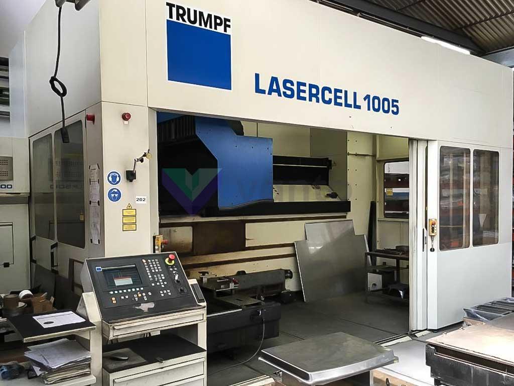 TRUMPF LASERCELL 1005 3D laser cutting machine (2005) id10355