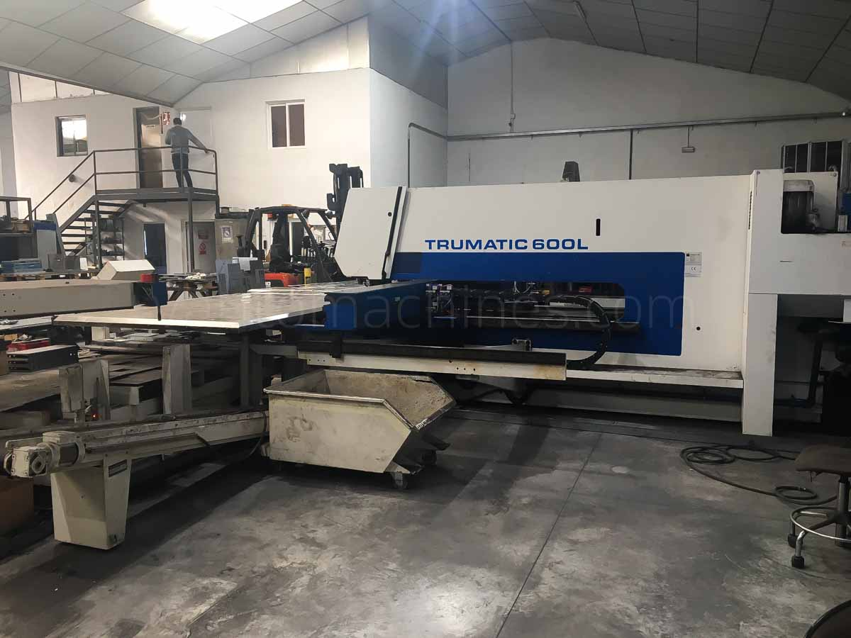 TRUMPF TC 600 L - 1600 Combined laser punching machine (CO2) (1999) id10115