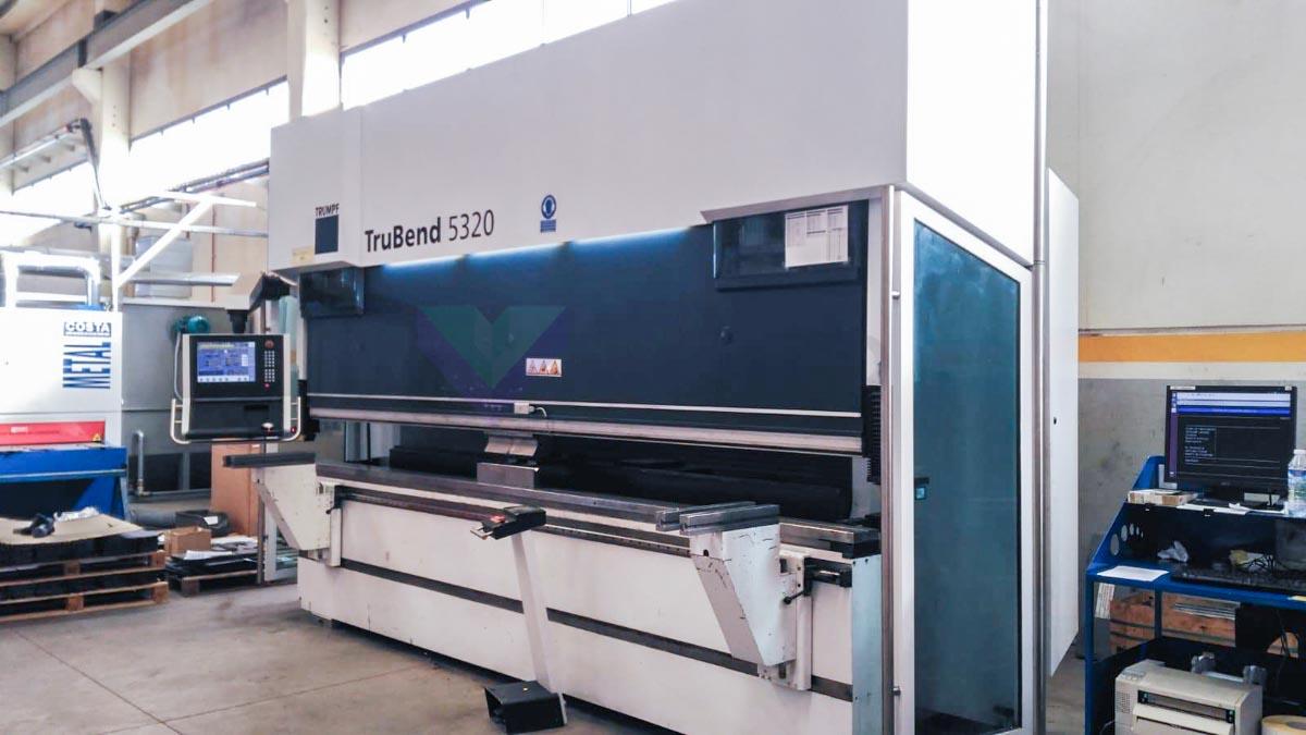 Plegadora CNC TRUMPF TruBend 5320 (2008) id10144