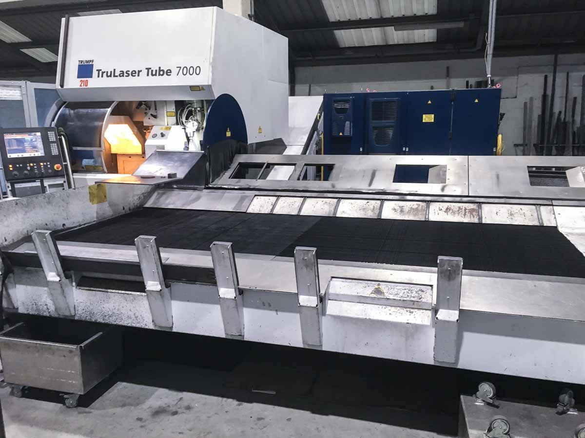 TRUMPF TruLaser Tube 7000 Laser pipe cutting machine (2010) id10179