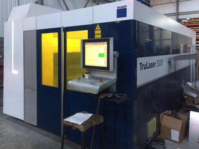 TRUMPF TruLaser 3030 fiber Laser cutting machine (Fiber) (2015) id10242