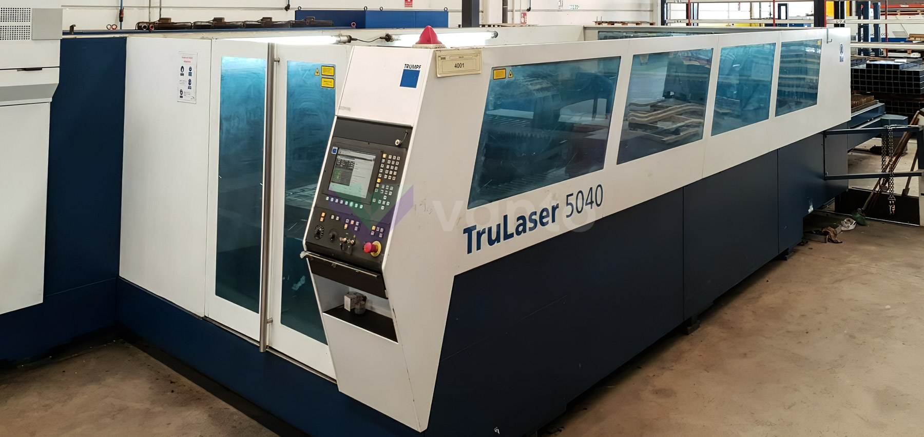 TRUMPF TruLaser 5040 Laser cutting machine (CO2) (2008) id10397