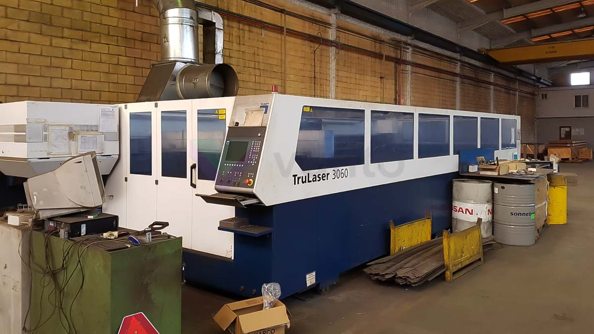 TRUMPF TruLaser 3060 Laser cutting machine (CO2) (2011) id10153